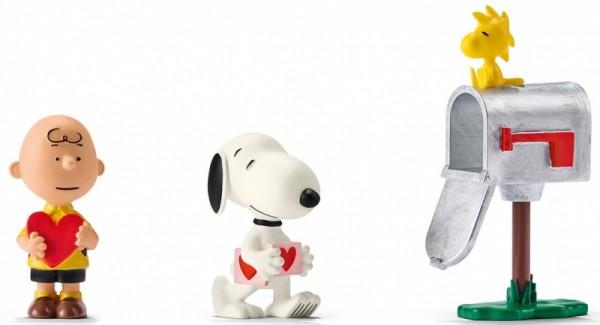 Schleich 22033 Scenery Valentine's Day Peanuts Snoopy