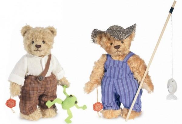 Teddy Hermann 170211-170228 Teddybären Tom Sawyer und Huckleberry Finn 26 cm