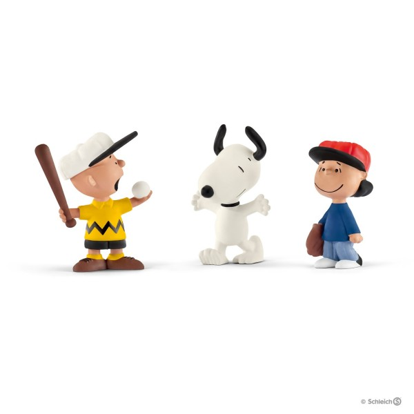 Schleich 22043 Scenery Pack Baseball Peanuts Snoopy