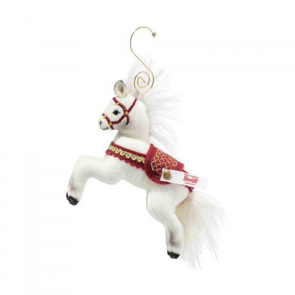 Steiff 006920 Weihnachtspferd Ornament 10 cm