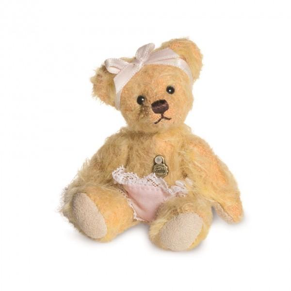 Teddy Hermann 162742 Teddybär Baby Girl Mohair 10 cm