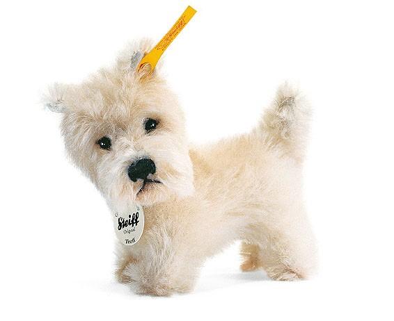 Steiff 033377 Treff West Highland Terrier 11 cm Mohair stehend