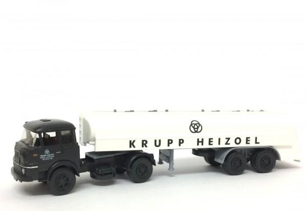 Wiking Krupp SF980 Tanksattelzug Krupp Heizoel Berlin