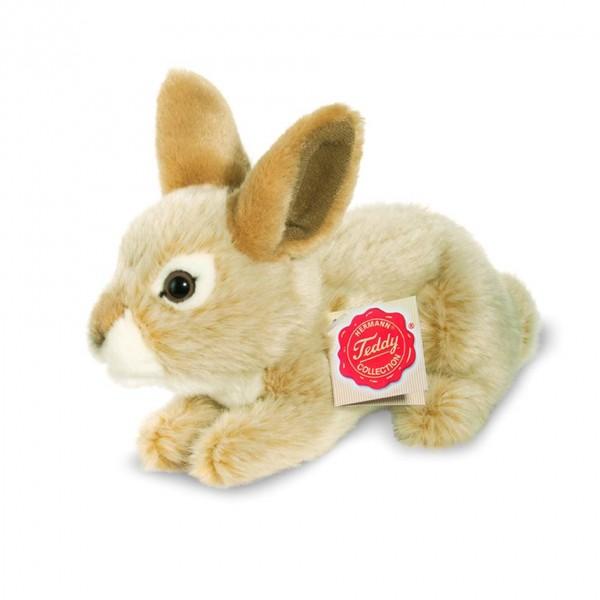 Teddy Hermann 937036 Hase sitzend beige Wirkplüsch 19 cm
