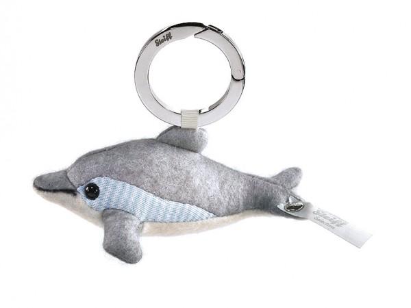 Steiff 035708 Selection Schlüsselanhänger Filzdelphin Seaside 10 cm