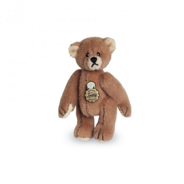 Teddy Hermann 154167 Teddybär braun Miniatur 5 cm