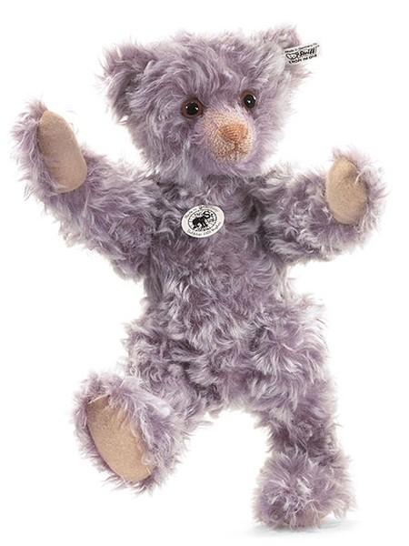 Steiff 408748 Teddybär 1925 Replica Mohair violett gespitzt 36 cm