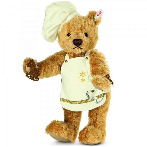 Steiff 021244 Weihnachtsbäcker Teddybär 40 cm