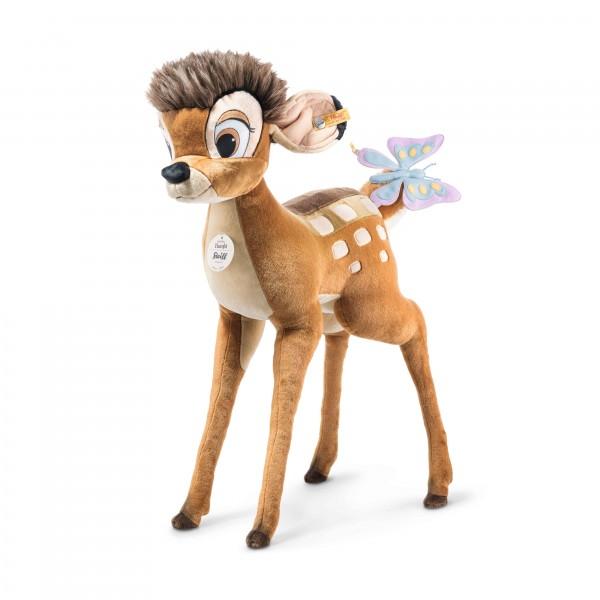 Steiff 501050 Disney Studio Bambi 100 cm mit Schmetterling