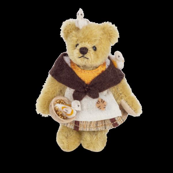 Teddy Hermann 154785 Teddybär Aschenputtel 10 cm