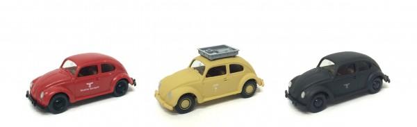 Wiking Set 3 Modelle VW vor 1945