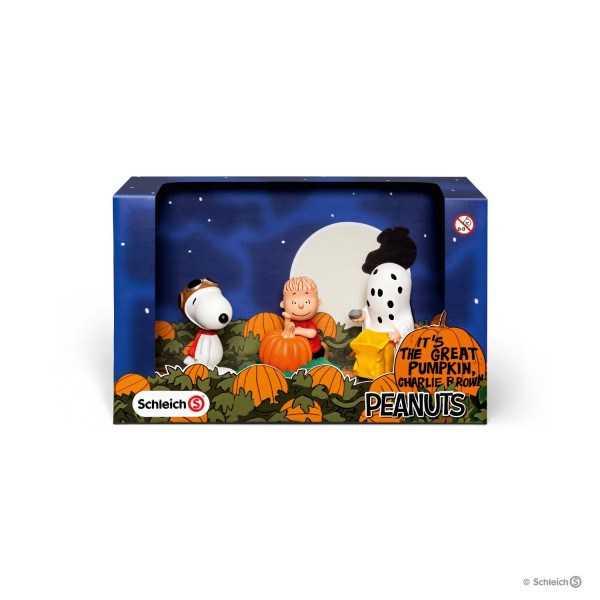 Schleich 22015 Scenery Pack Halloween Peanuts Snoopy