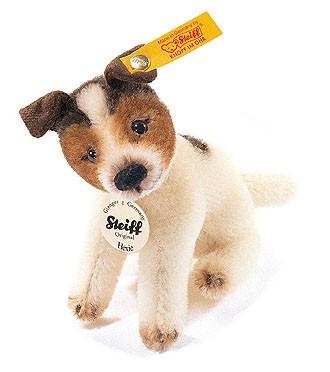 Steiff 033391 Hexie Jack Russell Terrier Mohair 10 cm