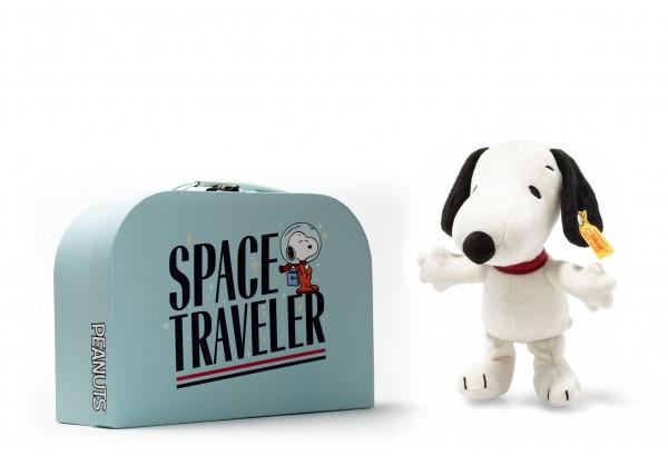 Steiff 658259 Snoopy 20 cm im Space Traveller Koffer