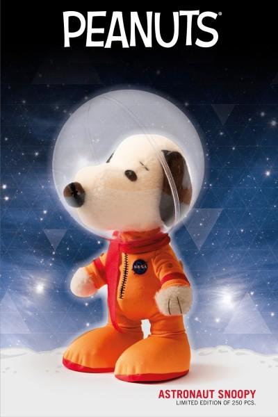 Teddy Hermann 100591 NASA Astronaut Snoopy 23 cm