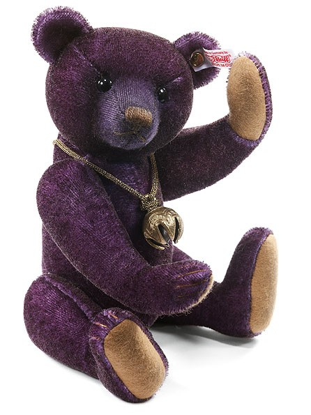 Steiff 035739 Monty Teddybär Mohair 28 cm limitiert