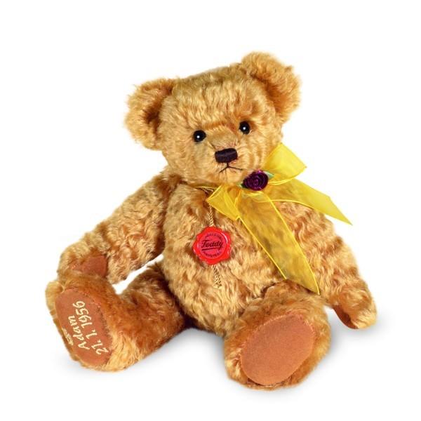 Teddy Hermann Glückwunschbär honig 30 cm