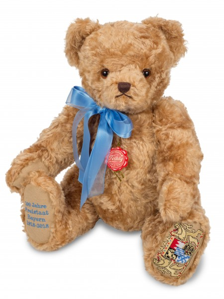Teddy Hermann 155485 Teddybär 100 Jahre Freistaat Bayern 48 cm
