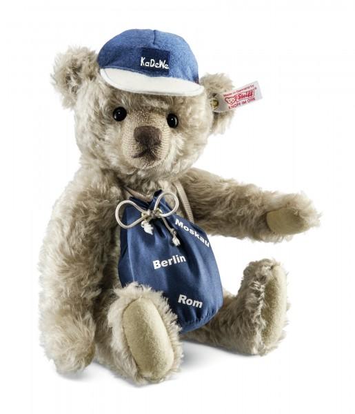 Steiff 657535 Weltenbummler Teddybär Mohair 27 cm