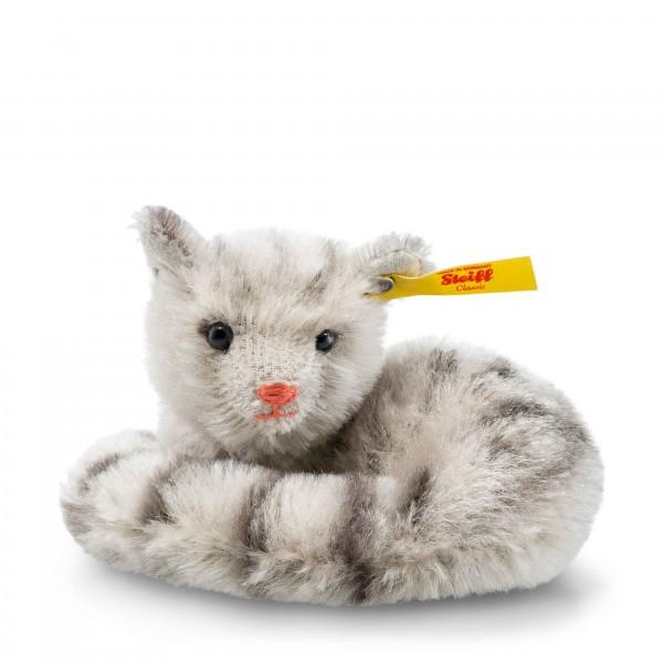 Steiff 033551 Mini Moggy Katze grau 9 cm