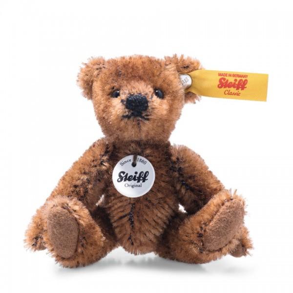 Steiff 028151 Mini Teddybär 9 cm Mohair braun