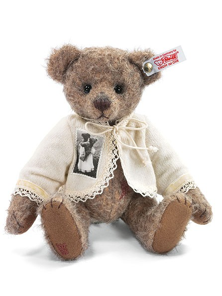 Steiff 036897 Anni Teddybär 24 cm aus feinstem Mohair