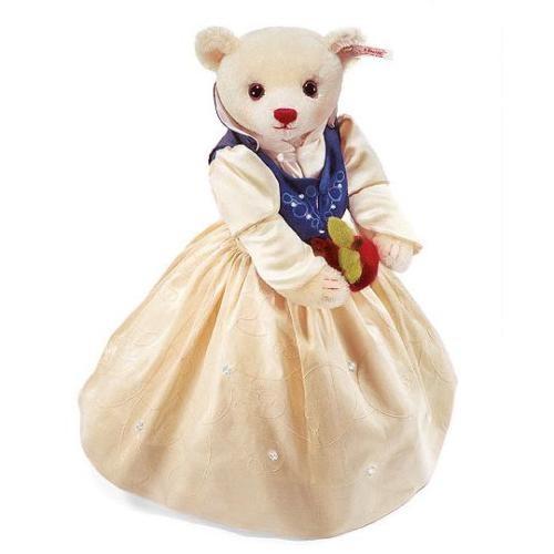 Steiff 036811 Teddybär Schneewittchen Mohair 33 cm