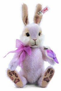 Steiff 682100 Birdie, the Springtime Rabbit Mohair 22 cm USA