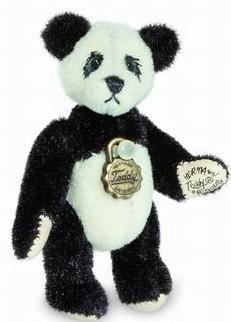 Teddy Hermann 157656 Teddybär Panda Miniatur 5 cm