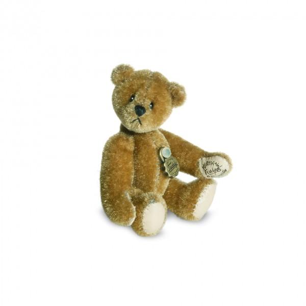 Teddy Hermann 157342 Teddy gold Miniatur 6 cm