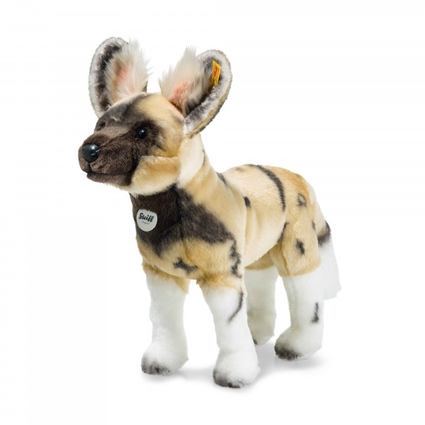 Steiff 066122 Aboki Afrikanischer Wildhund 38 cm