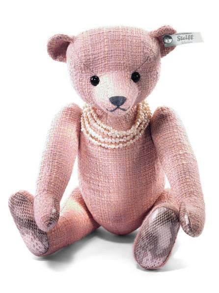 Steiff 034886 Selection Teddybär Amelia Paradise rose/apricot Baumwolle 32 cm