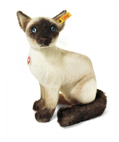 Steiff 074264 Sulla Balinese Katze Mohair 32 cm