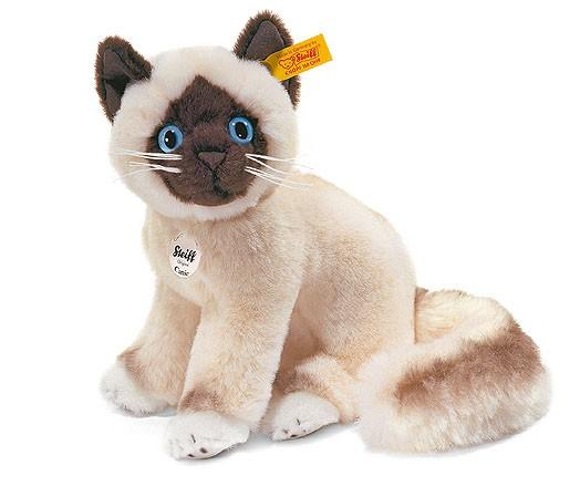 Steiff 099458 Cattie Heilige Birma Katze 22 cm