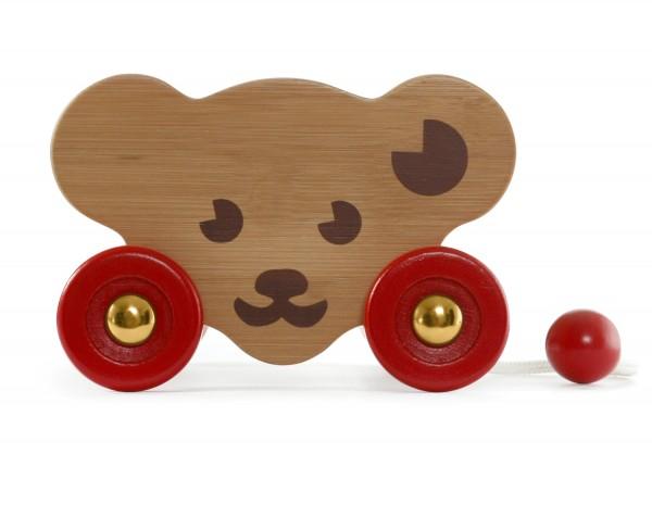 Steiff 058422 Bear Cart Bärenwagen aus Holz