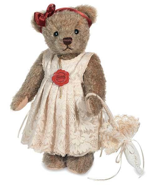 Teddy Hermann 175278 Teddybär Antonia Mohair 26 cm