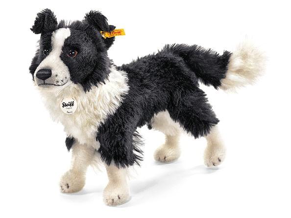Steiff 035029 Hund Benny Border Collie Mohair 35 cm