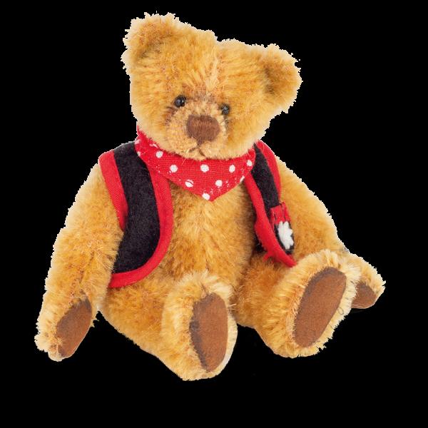 Teddy Hermann 154686 Teddybär Fritz 10 cm