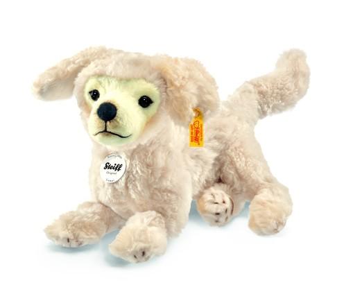 Steiff 076978 Hund Lumpi Golden Retriever liegend Plüsch 28 cm