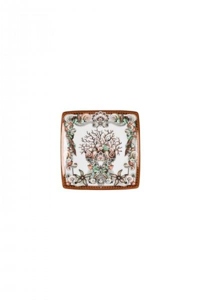 Rosenthal Versace Étoiles de la Mer Schälchen 12 cm quadr. flach