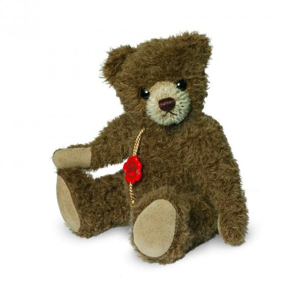 Teddy Hermann 123163 Teddybär Alpakabär schoko 19 cm