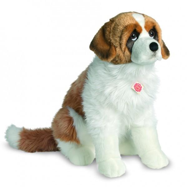 Teddy Hermann 927969 Bernhardiner Hund sitzend 60 cm