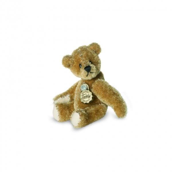 Teddy Hermann 157366 Teddy gold Miniatur 5 cm