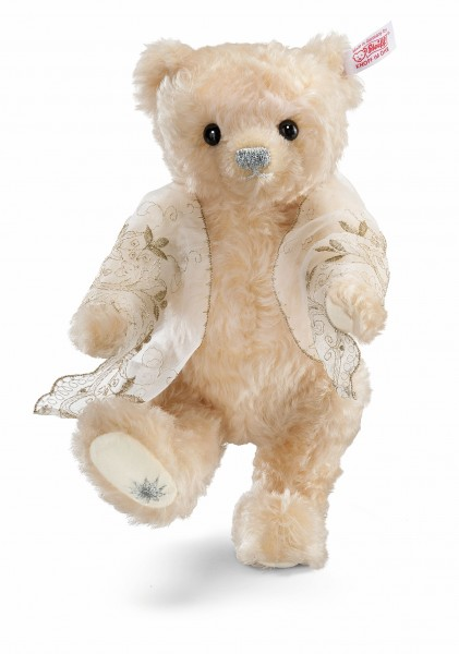 Steiff 673405 Teddybär Kaiserin Elisabeth Sissi Mohair 25 cm