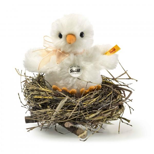 Steiff 033087 Küken im Nest 12 cm