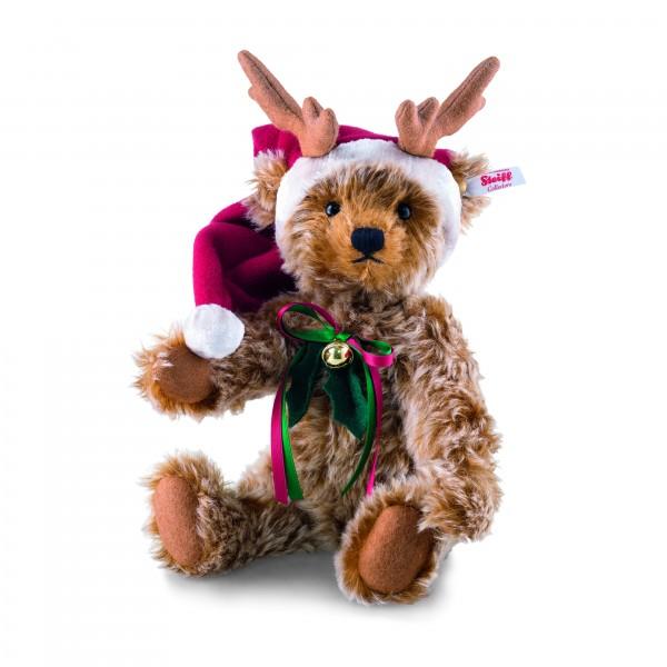 Steiff 021732 Rentier Teddybär 30 cm Weihnachten