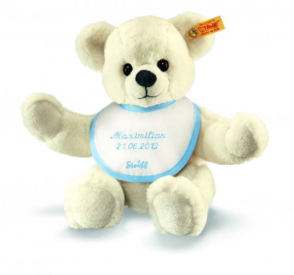 Steiff 018848 Teddybär zur Geburt Plüsch creme 28 cm