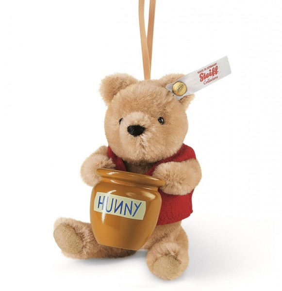 Steiff 682933 Winnie Pooh Honey Pot ornament
