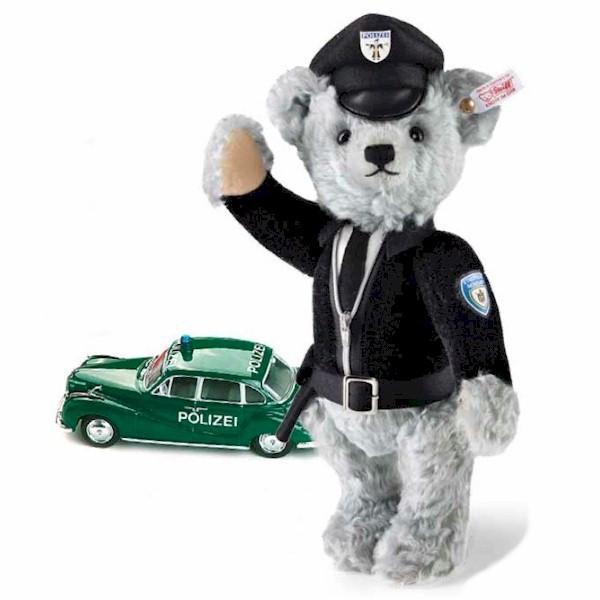 Steiff 673825 Isar 12 Teddybär 30 cm mit Schuco BMW 501