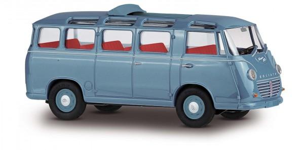 DreiKa 94174 Goliath Express 1100 Luxusbus blau, Dach offen